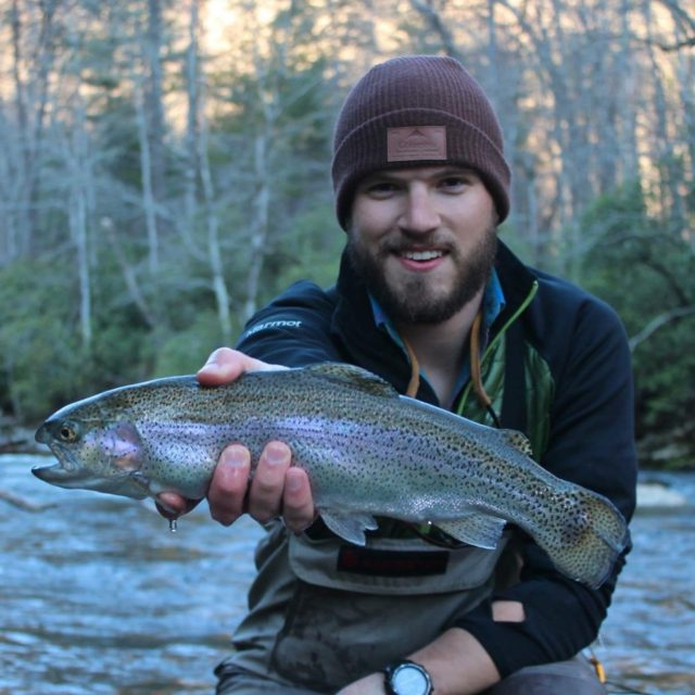Capt Jacob Tallent, Jake Tallent, Fly Fishing the Smokies Guide, Smoky Mountain Fly Fishing Guide