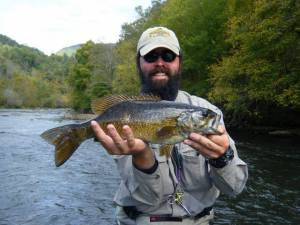 Little Tennessee River, Smallmouth Bass, Fly Fishing, Fly Fishing the Smokies