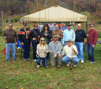Fly Fishing the Smokies Group Trips, Guided Fly Fishing in the Smoky Mountains,