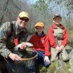 Guided Fly Fishing trips for Kids, Fly Fishing the Smokies
