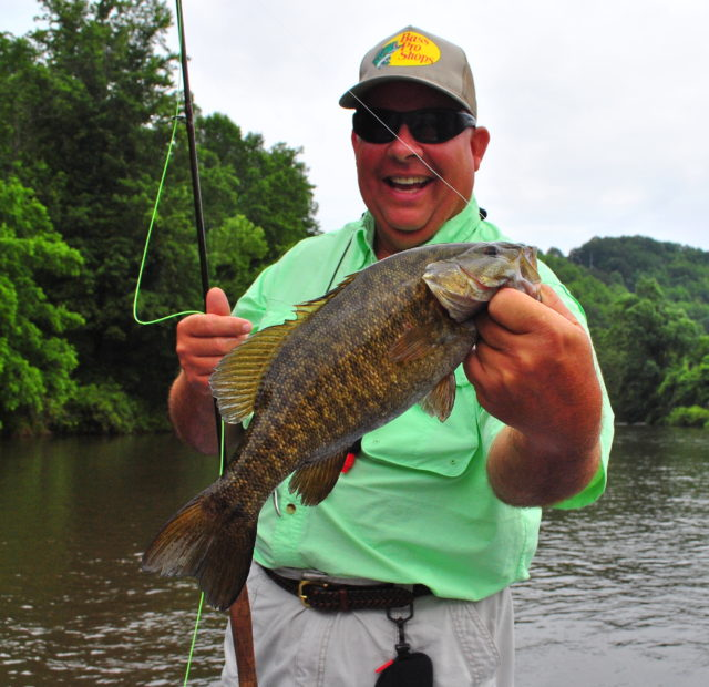 Smallmouth Bass, Smallie, Fly Fishing the Smokies