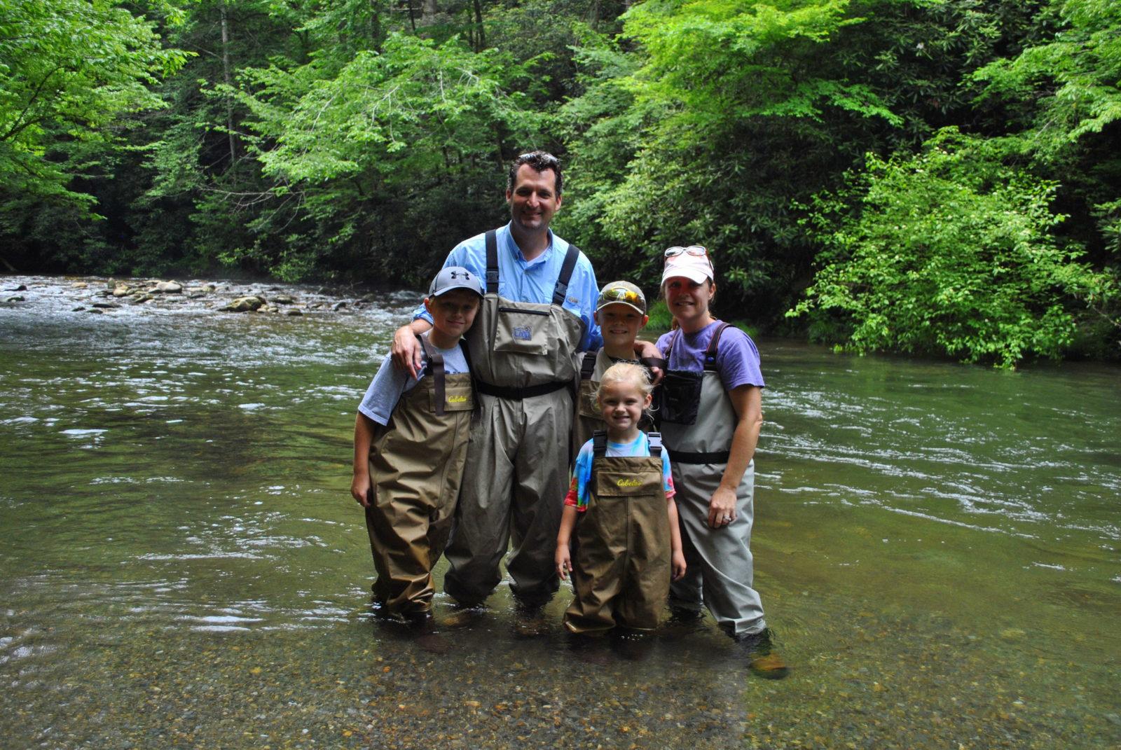 Summer fly fishing for Gatlinburg trout fishing