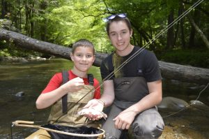 West Prong, Fly Fishing Gatlinburg, Fly Fishing the Smokies