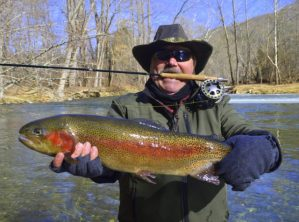 Cherokee Fly Fishig Guides Trips Tours Trophy Rainbow Trout