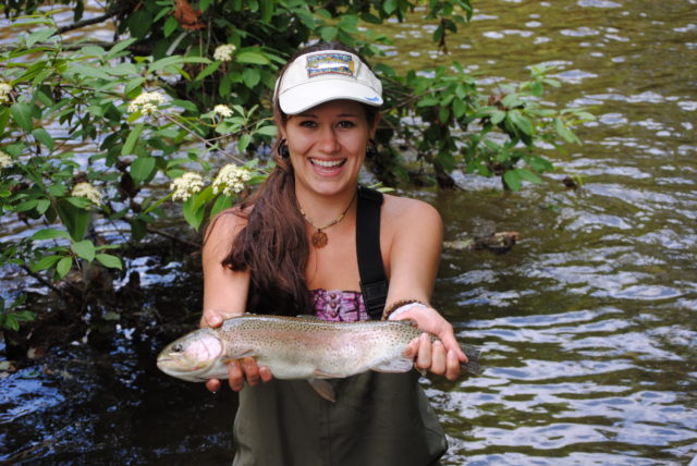 Fly fishing guides cashiers highlands north carolina for Nc lifetime fishing license