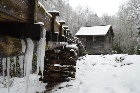 Fly Fishing the Smokies, Great Smoky Mountains National Park Grist Mills, Mingus Mill,