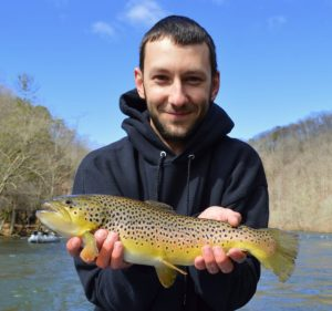 March Fly Fishing, Fly Fishing the Smokies, Best Fly Fishing Guides Trout Smoky Mountains
