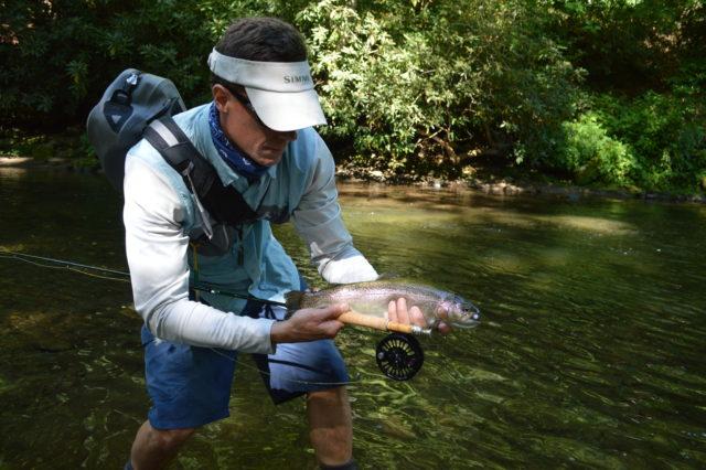Smoky Mountain Fly Fishing, Fly Fishing the Smokies, Smoky Mountain Rainbow Trout