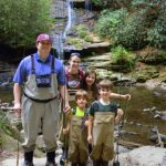 Gatlinburg Fly Fishing Guides, Pigeon Forge Fly Fishing Guides and Trips, Kids Fly Fishing Great Smoky Mountains, Family Fly Fishing Trips,
