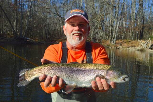 Winter Fly Fishing the Smokies, Winter Fly Fishing equals Big Trout, Fly Fishing the Smokies