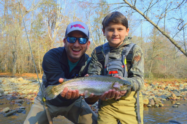 Winter Trophy Trout, Fly Fishing Gift Certificates,