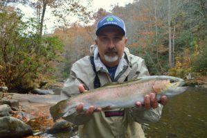 November Fly Fishing Smoky Mountains, Cherokee Fly Fishing Trout, Fly Fishign Guides in Cherokee, Fly Fishing the Smokies