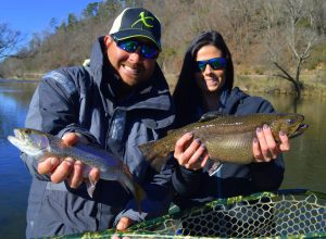Winter Fly Fishing, Fly Fishing the Smokies