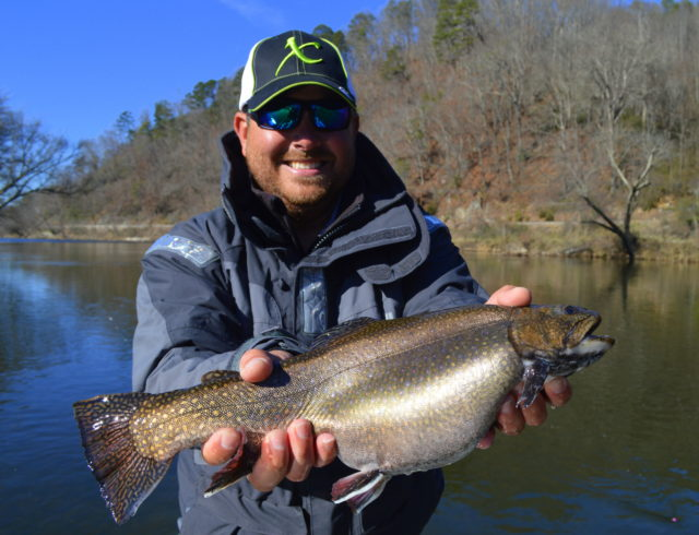 Winter Float Trips, John Cox 2106 FLW Tour Champion, Fly Fishing the Smokies, Tuckasegee River Brook Trout,