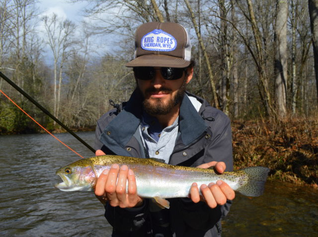 Great smoky mountains fishing report january 22nd for Cherokee trout fishing
