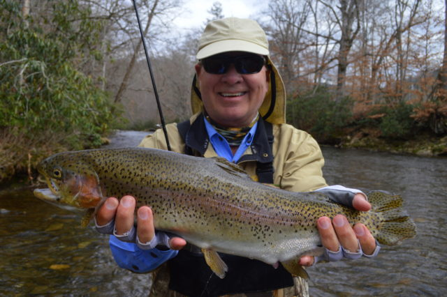 Great smoky mountains fishing report february 27th for Smoky mountain trout fishing