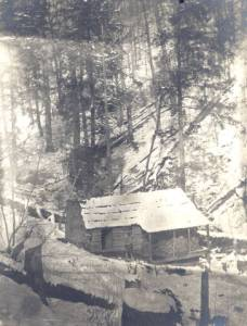 Horace Kephart cabin on Hazel Creek, Hazel Creek Fly Fishing Guides