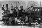 Big steam engines could be heard all across the Smoky Mountains region