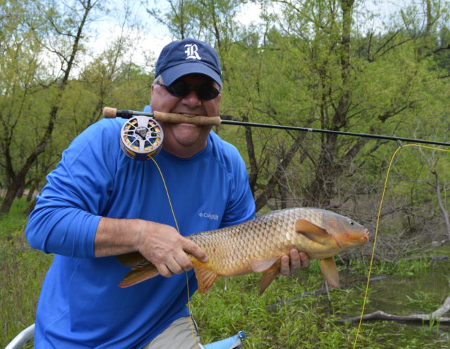 Carp Fly Fishing Guides, Fly Fishing the Smokies, Carp Fly Fishing North Carolina