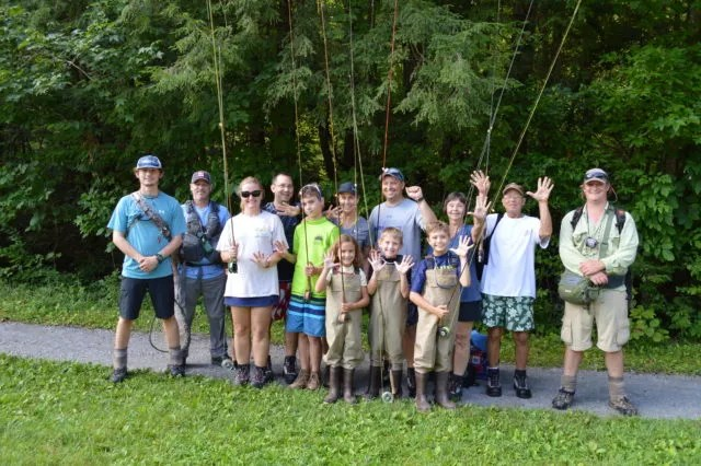 Kids Fly Fishing, Fly Fishing Guides the Great Smoky Mountains National Park Gatlingburg Bryson City Cherokee Pigeon Forge