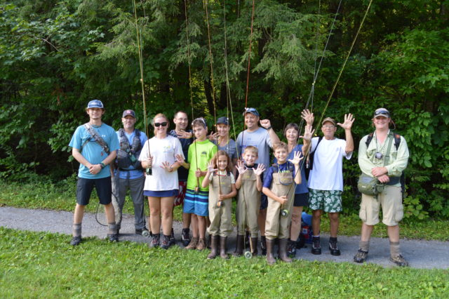 Fly Fishing Guides the Great Smoky Mountains National Park Gatlingburg Bryson City Cherokee Pigeon Forge