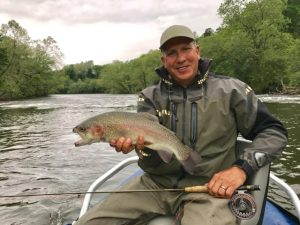Spring Fly Fishing, Fly Fishing Guides Highlands NC, Tuckasegee River Fly Fishing Report May 5th