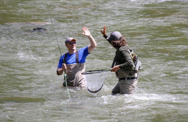 Tuckasegee River Fishing Report May 19th