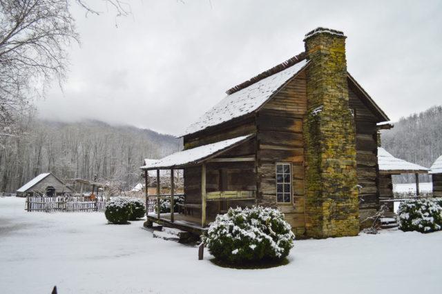 Fly Fishing the Smokies, Winter Smoky Mountain Snow,