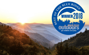 2108 Fly Fishing Outfitter of the Year, 2018 Fly Fishing Guide of the YEar, 2018 Best of the Blue Ridge Fly Fishing Outfitter and Guides, Best Fly Fishing Guides and Outfitter Great Smoky Mountains Gatlinburg Pigeon Forge Bryson City Cherokee North Carolina Tennessee,