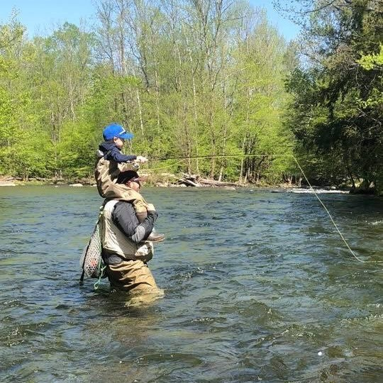 Great Smoky Mountains Fly Fishing Report, Smoky Mountains Fly Fishing,Kids Fly Fishing, Fly Fishing the Smokies, Eugene Shuler Fly Fishing