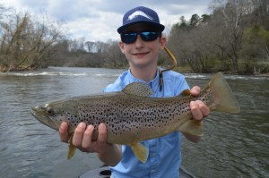 Bryson City Fly Fishing Guides, Tuckasegee River Fly Fishing Guides,