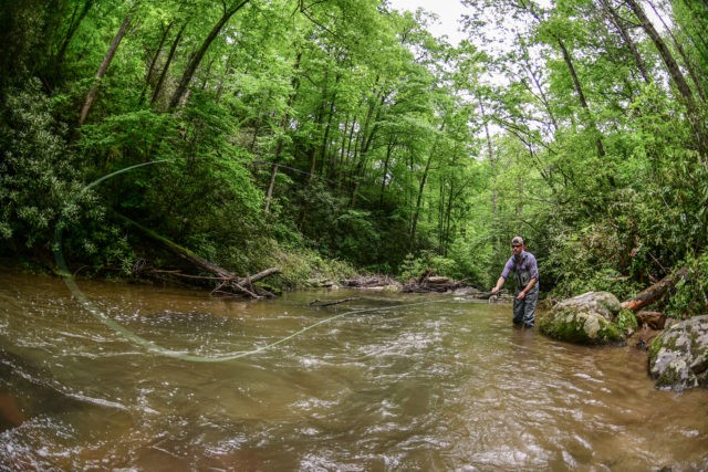 Brook Haven Fly Fishing, Private Water, Fly Fishing the Smokies,