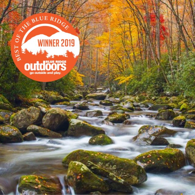 2019 Fly Fishing Outfitter of the Year, 2019 Fly Fishing Guide of the Year, Fly Fishing the Smokies