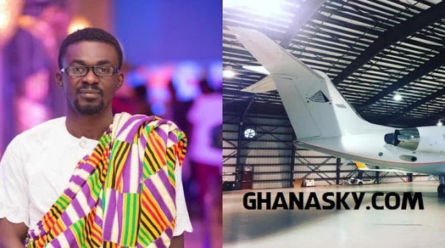 [Watch Photos] : Zylophon Media Boss, Menzgold CEO, Nana Appiah Mensah Acquires A Private Jet Worth $41million