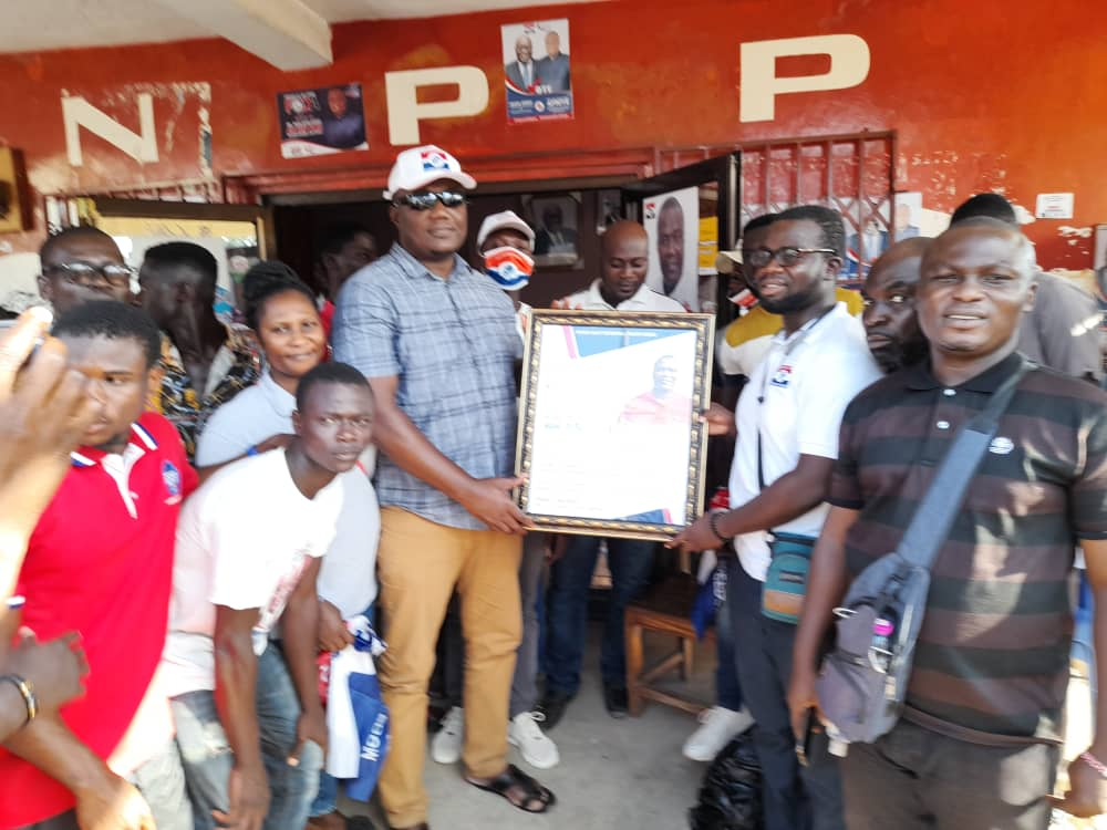 Effiduase-Asokore MP Honoured By Bono East Regional Youth Wing