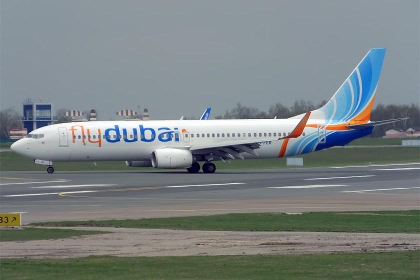 FlyDubai,_A6-FER,_Boeing_737-8KN_(16835873164)