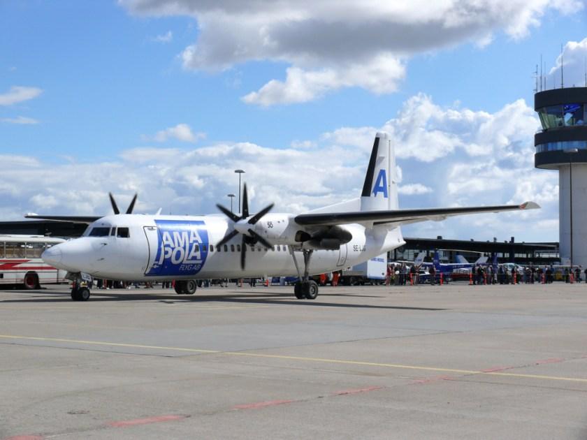 Amapola_Fokker_50_SE-LJG