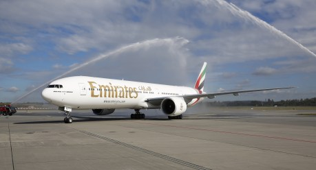 Emirates Boeing 777-300ER. (Foto: Wikimedia Commons)