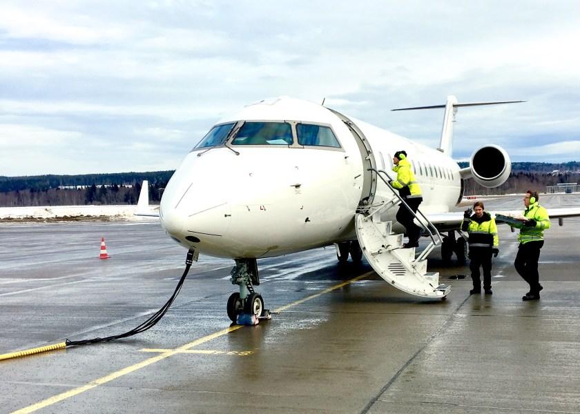 flyg sundsvall till stockholm