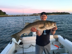 40 inch boston harbor striped bass