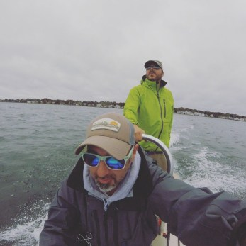 Windy and Rainy days on the skiff
