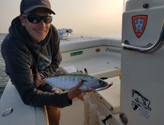 Martha's Vineyard Bonito on light tackle