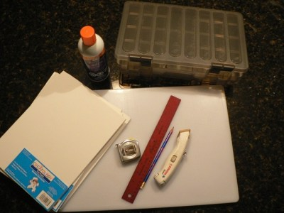 DIY Fly Box - the goods ...