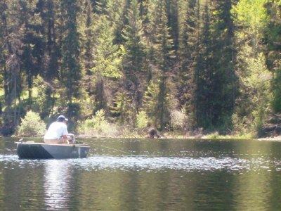Best Fly Fishing Boats - the punt is a BC Interior still water favourite!