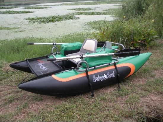 Best fly fishing boats for the trophy still water lakes of for Fly fishing pontoon boats