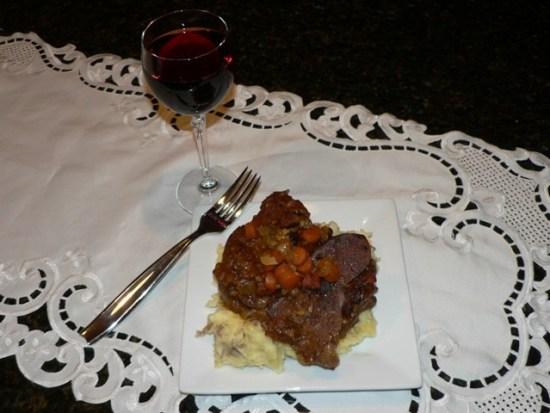....... Osso Buco Roasted Venison Shank Recipe O So Delicioso!
