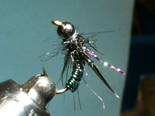 Combo Nymph River Fly Pattern - bottom