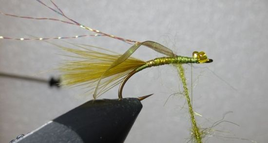 ... the flash back stump lake damsel fly pattern!