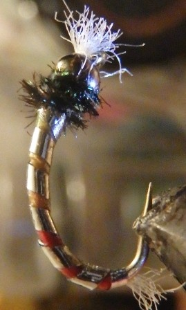 Iron Man Chromie Chironomid Fly Pattern