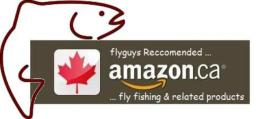 flyguys Recommended Amazon Fly Fishing Products